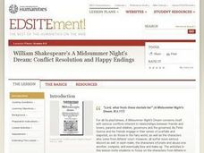William Shakespeare's 'A Midsummer Night's Dream': Conflict Resolution and Happy Endings Lesson Plan