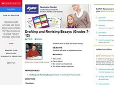 Drafting and Revising Essays Lesson Plan