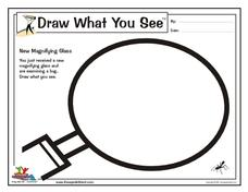 Draw What You See Worksheet