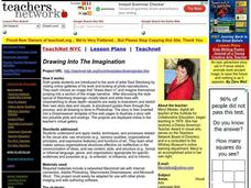 Drawing Into the Imagination Lesson Plan