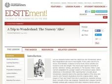 "A Trip to Wonderland: The Nursery ""Alice"" Lesson Plan"