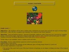 Oceans-Coral Reefs Lesson Plan