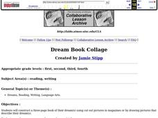 Dream Book Collage Lesson Plan