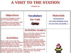 A Visit To The Station Lesson Plan
