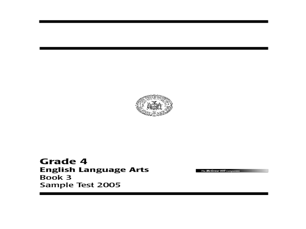 Language Arts Book 3 Grade 4 Writing Skills Worksheet for