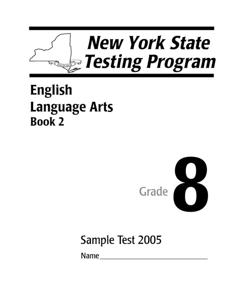 New York State Testing Program English Language Arts Book 2