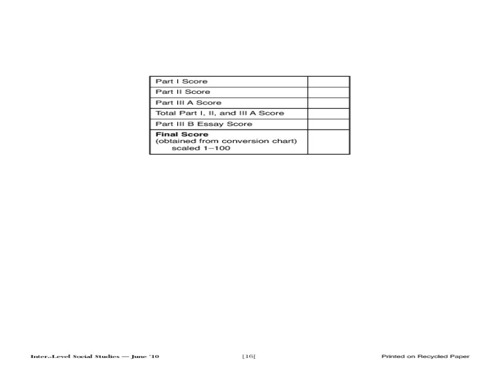 Grade 8: Intermediate-Level Social Studies, Booklet 2