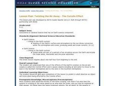 Twisting the Air Away - The Coriolis Effect 9th - 12th Grade ...