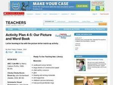 Our Picture and Word Book Lesson Plan