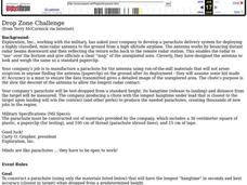 Drop Zone Challenge Worksheet