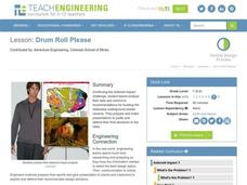 Drum Roll Please Lesson Plan