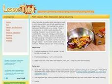 Math Lesson Plan: Halloween Candy Counting Lesson Plan