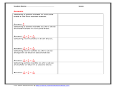 Independent and Dependent Variables Worksheet for 6th - 7th ...