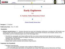 Early Explorers Lesson Plan