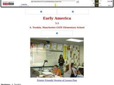 Early America Lesson Plan