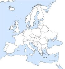 Political Map Of Europe Blank.Blank Europe Political Maps Lesson Plans Worksheets