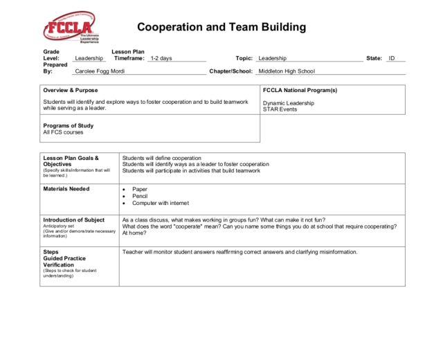 fccla dynamique datation