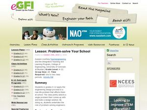 Problem-Solve Your School Lesson Plan