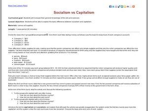 socialism and capitalism lesson plans worksheets. Black Bedroom Furniture Sets. Home Design Ideas