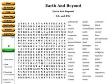 Earth And Beyond Worksheet