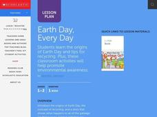 Earth Day, Every Day Lesson Plan