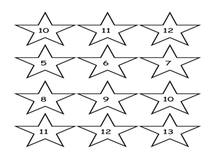 One Digit Addition Facts: Stars Lesson Plan