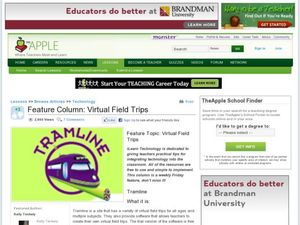 Feature Column: Virtual Field Trips Lesson Plan