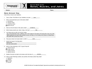 Human Body Series - Bones, Muscles, and Joints Activities & Project
