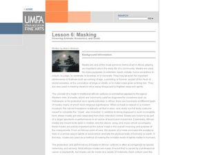 Masking: Honoring Animals, Ancestors, and Gods Lesson Plan