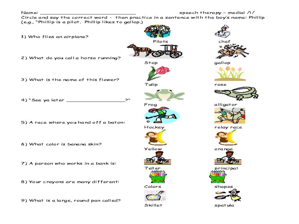 Worksheet Speech Therapy Worksheets Worksheet Fun Worksheet Study Site