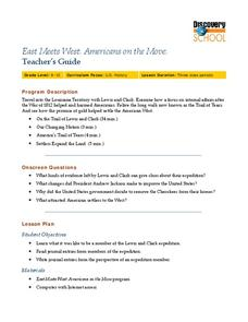 East Meets West: Americans on the Move Lesson Plan