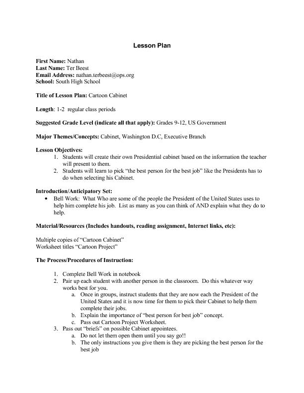 Washington Dc Lesson Plans Worksheets Lesson Planet