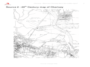 Cherstey: What was Cherstey like in the middle ages? Lesson Plan