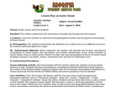 Easter Island Lesson Plan