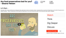 Are Food Preservatives Bad for You? Video