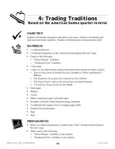 Trading Traditions: Based on the American Samoa Quarter Reverse Lesson Plan