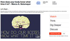 How Does Your Body Know What Time It Is? Video