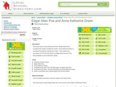 Edgar Allan Poe and Anna Katherine Green Lesson Plan