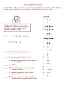 Pre Calculus Lesson Plans & Worksheets | Lesson Planet