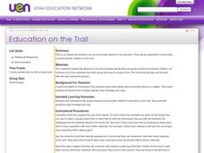 Education on the Trail Lesson Plan