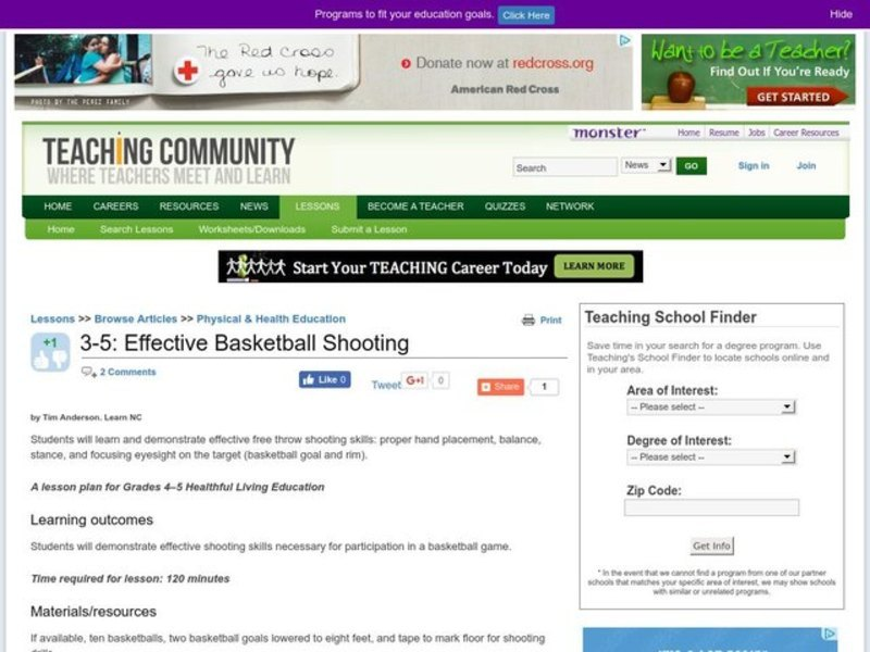 Effective Basketball Shooting Lesson Plan