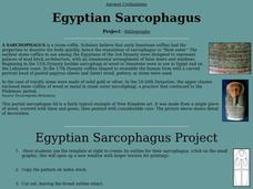 Egyptian Sarcophagus Lesson Plan