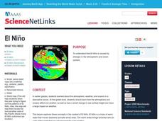 El Nino Lesson Plan