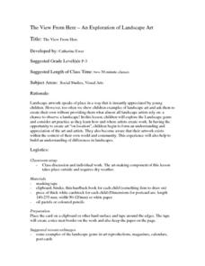 The View From Here Lesson Plan