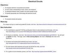 Electrical Circuits Lesson Plan