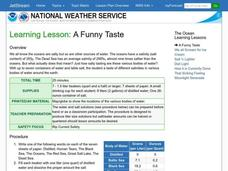 A Funny Taste Lesson Plan