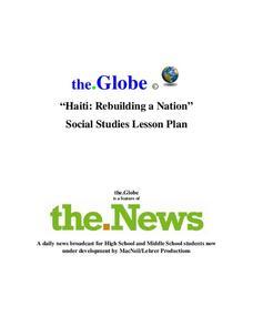 Haiti Lesson Plans & Worksheets | Lesson Planet