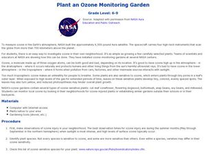 Plant an Ozone Monitoring Garden Lesson Plan