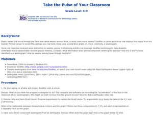 Take the Pulse of Your Classroom Lesson Plan