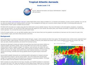Tropical Atlantic Aerosols Lesson Plan